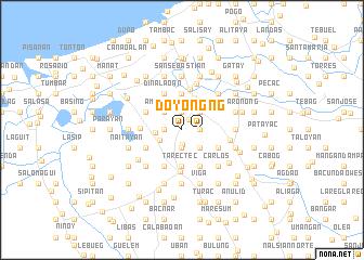 map of Doyong