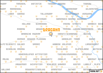 map of Dragahn