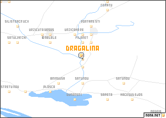 map of Dragalina