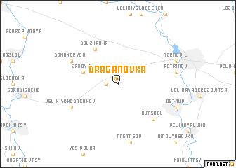 map of Draganovka