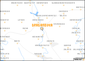 map of Draganovka