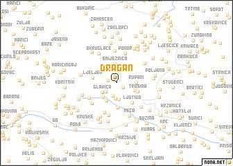 map of Dragan