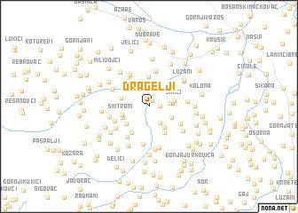 map of Dragelji