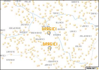 map of Dragići