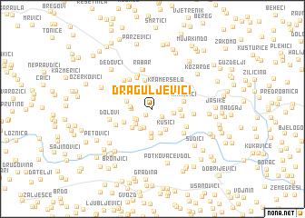 map of Draguljevići