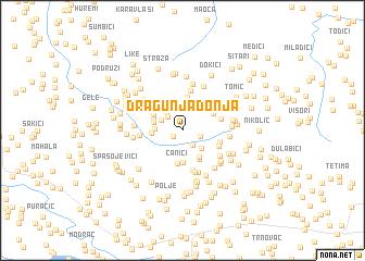 map of Dragunja Donja