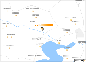map of Dragunovka
