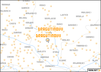 map of Dragutinovi°i
