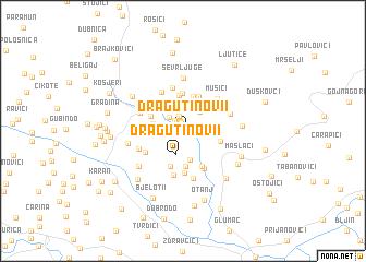 map of Dragutinovi°i