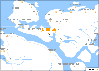 map of Drange