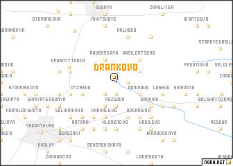 map of Dran\