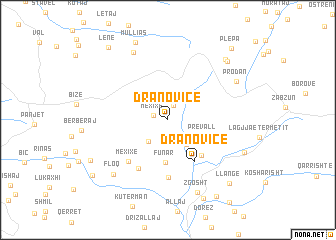 map of Dranovicë