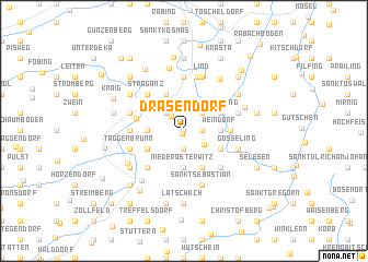 map of Drasendorf