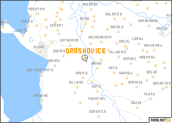 map of Drashovicë