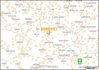 map of Draškići