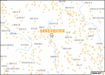 map of Draškovina