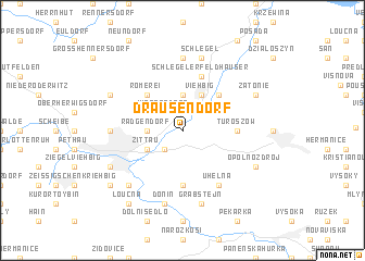 map of Drausendorf