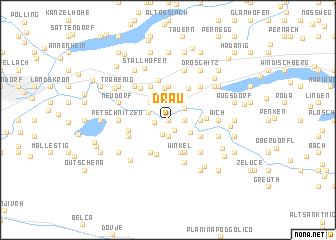 map of Drau