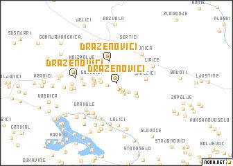 map of Draženovići