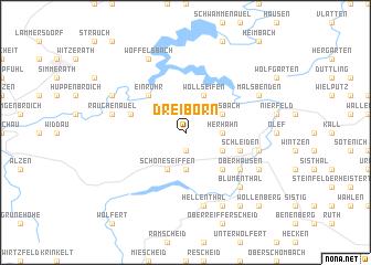 map of Dreiborn