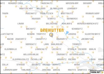 map of Dreikutten