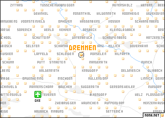 map of Dremmen