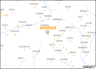 map of Drenovo