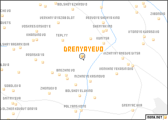 map of Drenyayevo