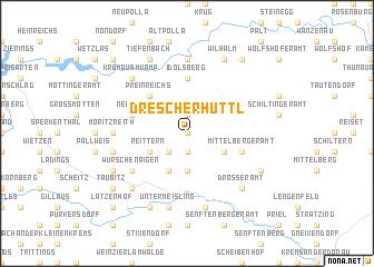 map of Drescherhüttl