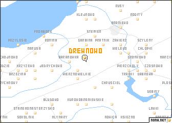 map of Drewnowo
