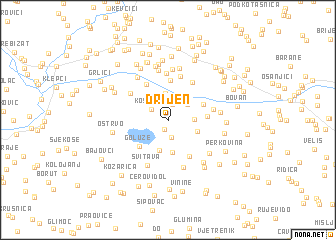 map of Drijen