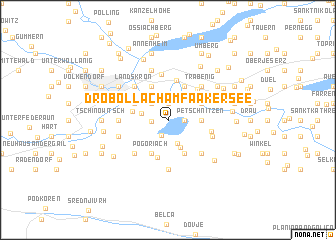 map of Drobollach am Faakersee