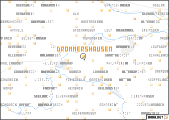 map of Drommershausen