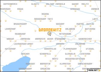 map of Drönnewitz