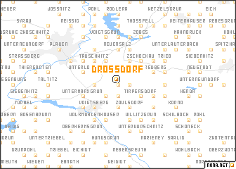 map of Droßdorf