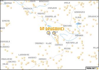 map of Drugovići