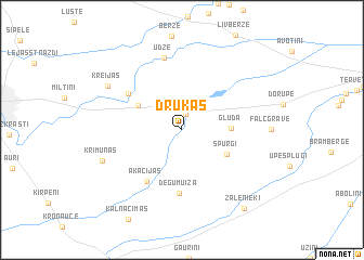 map of (( Drukas ))