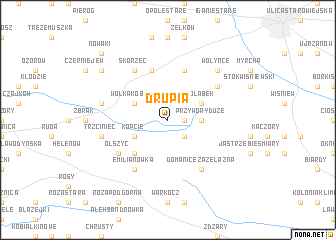map of Drupia