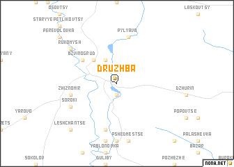 map of Druzhba