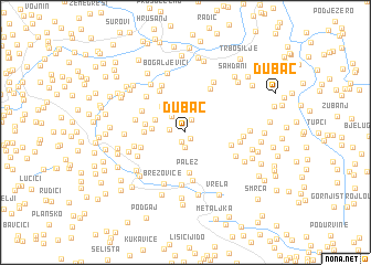 map of Dubac