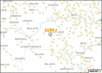 map of Dubaj