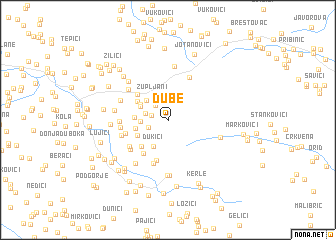map of Ðube