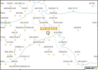 map of Dubienka