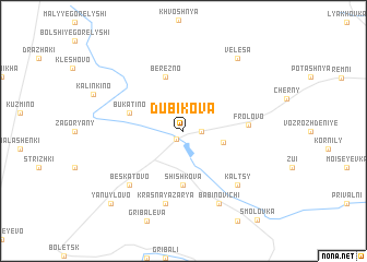 map of Dubikova