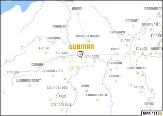 map of Dubinan