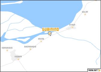 map of Dubinino