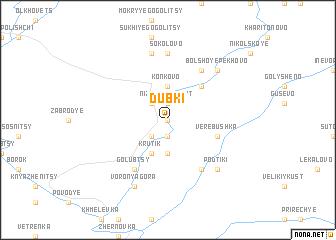 map of Dubki