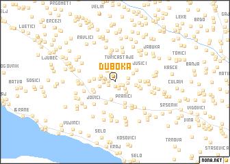 map of Duboka