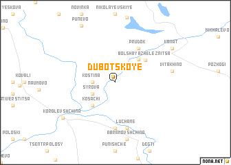 map of Dubotskoye