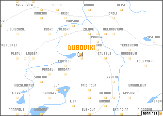 map of Duboviki
